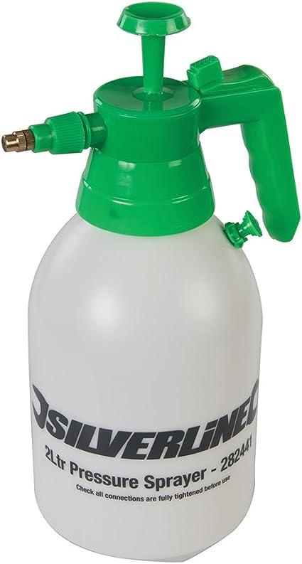Silverline Tools 282441 - Manguera con grifo pulverizador, Colores surtidos, 2 litros