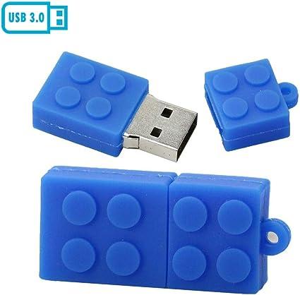 Amazon.com: Building Block - Memoria USB 3.0 (USB 3.0), Azul ...