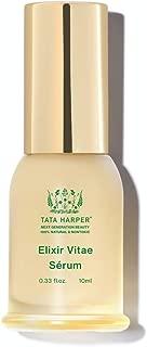 product image for Tata Harper Elixir Vitae, Anti-Aging Quadruple Neuropeptide Face Serum, 100% Natural, Made Fresh in Vermont, 10ml