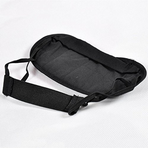 Eye Mask - Honghong Bamboo Charcoal Cotton 3D Sleeping Nap Travel Office Eye Shade Blindfold Cover - Black by Honghong (Image #2)