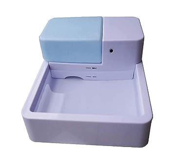 GLMAMK Dispensador de Agua para Mascotas en Suministros para Mascotas, dispensador automático de Fuente de