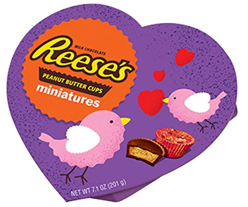 Hershey's Reese's Miniatures Valentine Heart, 7.1 (Heart Miniature)