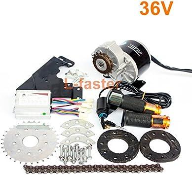 L-faster 350W Motor Diesel engranada Kit del Motor eléctrico del ...