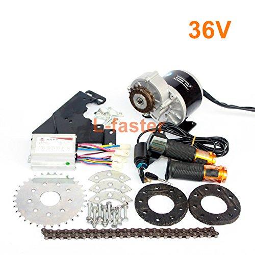 350ワット新しい到着電動自転車モーターキット電動ディレイラーエンジンセット可変倍速自転車電動キット [並行輸入品] B0768SN7GQ 36V Twist Kit 36V Twist Kit