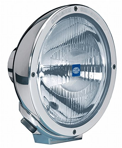 (HELLA H12560041 Rallye 4000 Halogen Series 12V/100W Chrome Euro Beam Lamp with Position Lamp)