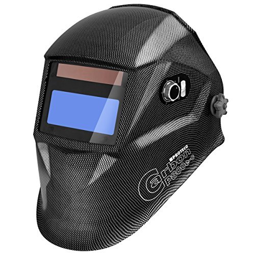 Proteco-Werkzeug P800E-C Automatik Schweißhelm Schweisshelm Schweissmaske Schweißschild Automatikhelm Carbon