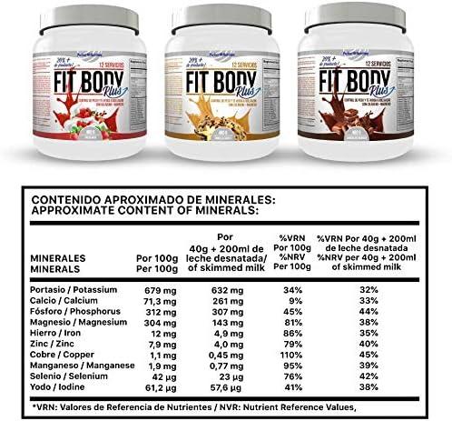 Pack adelgazamiento : Batido sustitutivo de comida + quema grasas termogenico dieta hombre y mujer (Fresa - Nata, 480gr)