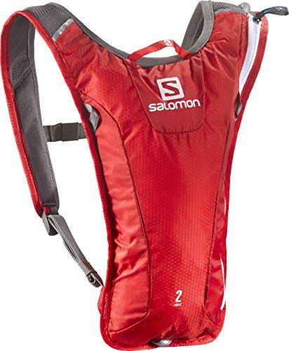 Salomon Agile 2 Set Backpack, Red/White