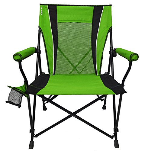 Kijaro Dual Lock Hard Arm Portable Camping and Sports Chair (Best Used Dual Sport)