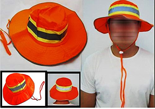 Ironwear 1271-O Orange Bright Booney Hat with Adjustable ...