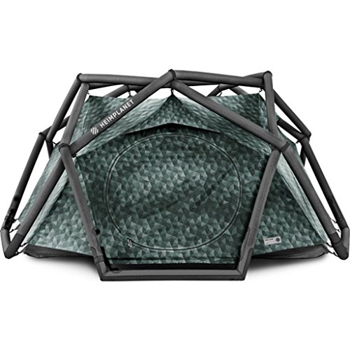 Heimplanet The Cave Inflatable Geodesic 3-Person 3-Season Tent (Classic)