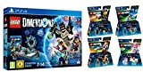 Legos Dimensions Ps4 Best Deals - LEGO Dimensions Starter Pack for PS4 Playstation 4 with Exclusive Supergirl Figure PLUS LEGO Movie Bundle with Emmet 71212, Bad Cop 71213, Benny 71214, and UniKitty 71231