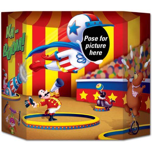 Circus Photo Party Accessory count