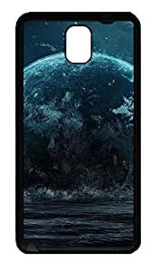 Samsung Note 3 Case Earth Space Galaxy TPU Custom Samsung Note 3 Case Cover Black doudou's case