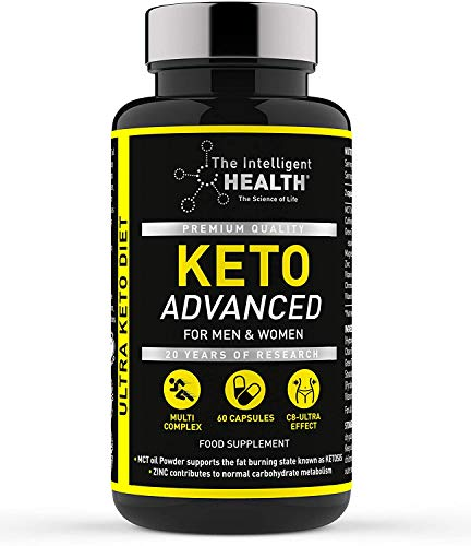 The Intelligent Health Keto Diet Pills for Men & Women | 60 Capsules | Advanced Keto Tablets with MCT Oil | Slimming…