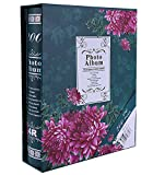 Fashion BB Multi photo album 4x6 with Paper cover 200 Pockets Hold Green