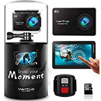 VanTop Moment 4 4K Sports Action Camera w/ 32GB Microsd...