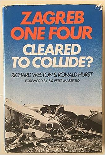 Amazon Com Zagreb One Four Cleared To Collide 9780876686287 Weston Richard Hurst Ronald Books