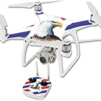 Skin For DJI Phantom 4 Quadcopter Drone – Eagle Head | MightySkins Protective, Durable, and Unique Vinyl Decal wrap cover | Easy To Apply, Remove, and Change Styles | Made in the USA