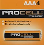 DURACELL AAA24 PROCELL Professional Alkaline Battery (DURACELL AAA24PROCELL)