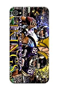 iphone covers Cover For Iphone 6 4.7 Minnesota Vikings Nfl Sparkle Personalised Phone Case