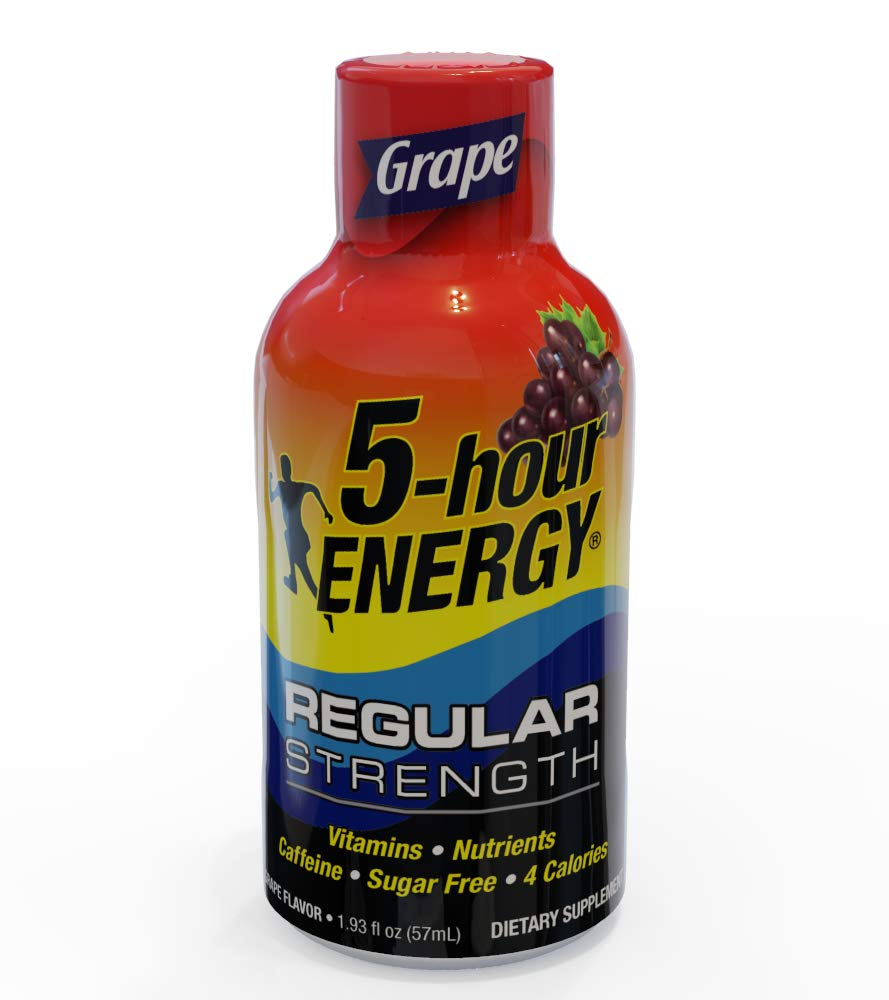 5-Hour ENERGY Shot, Regular Strength Grape, 1.93 Ounce, 24 Count by 5-Hour ENERGY (Image #5)