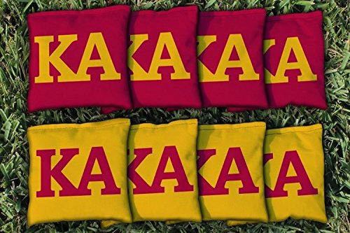 Victory Tailgate 8 Kappa Alpha Order Regulation All Weather Cornhole Bags by Victory Tailgate