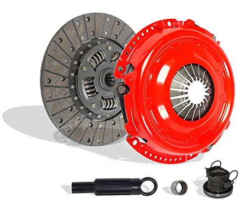 Clutch Kit Works With Jeep Wrangler Liberty 65th Anniversary Edition Rubicon Se Sport Unlimited X 65 Aniversario X Sport 2000-2006 4.0L L6 GAS OHV 3.7L V6 GAS SOHC Naturally Aspirated (Stage 1) 65th Anniversary Jeep Wrangler