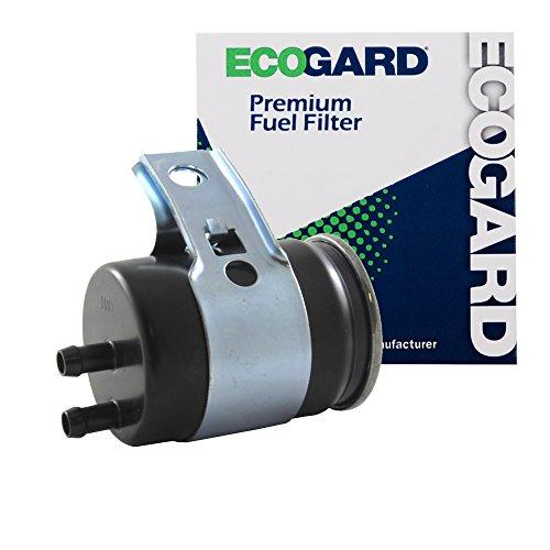 ECOGARD XF54611 Engine Fuel Filter - Premium Replacement Fits Chrysler New Yorker, LeBaron, Daytona, Imperial, Town & Country, Dynasty, TC Maserati/Dodge Dynasty, Aries, Spirit, Shadow, Daytona
