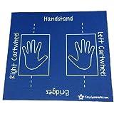 Cartwheel, Handstand, Bridge, and Roll (Easy to Store, Non-Slip, Soft)