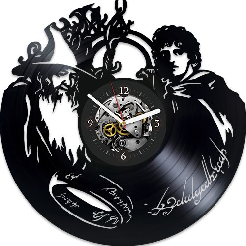 - Lord Of Rings Xmas Gift, Lord Of Rings Gift For Boy, Lord Of Rings Vinyl Clock, Wall Clock Vintage, Wall Clock Large, New Year Gift For Him, Lord Of Rings Gift For Kids