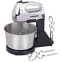 HAND MIXER WITH BOWL STEEL
