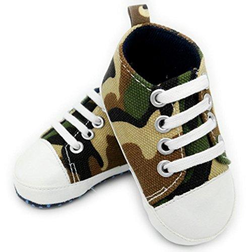 Fille Bébé Souple xinan Cuir Chaussures Camouflage Garçon FzwH6vSxSq