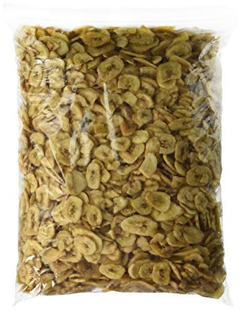 (Sweetened Banana Chips Dried 5 lbs by WHY NUT)