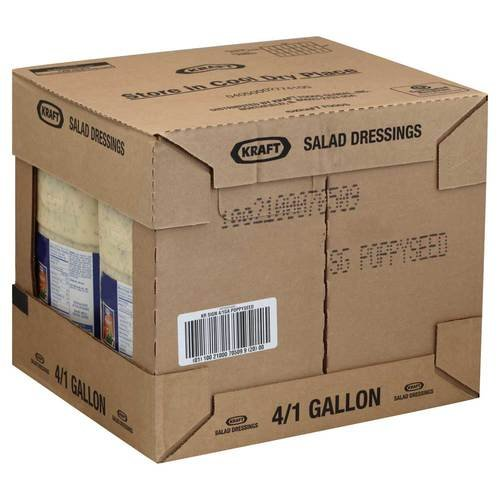 Dressing Signature Poppy Seed 4 Case 1 Gallon by Kraft