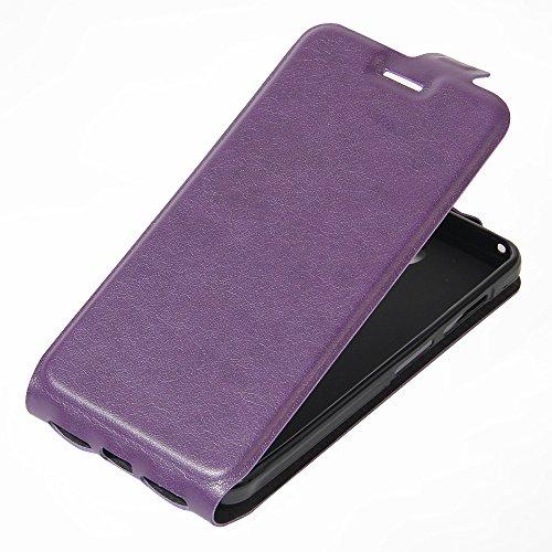 Qiaogle Teléfono Case - Funda de PU Cuero Billetera Clamshell Carcasa Cover para Letv LeEco Le 2 X620 / LeEco Le 2 Pro (5.5 Pulgadas) - FC02 / Negro Moda Elegante estilo FC19 / Púrpura Moda Elegante estilo