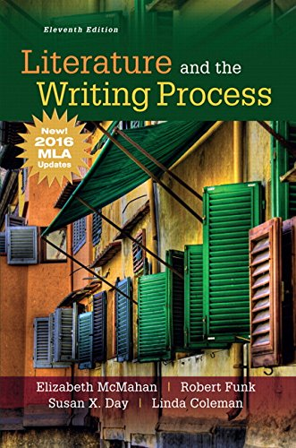Literature and the Writing Process, MLA Update (11th Edition)