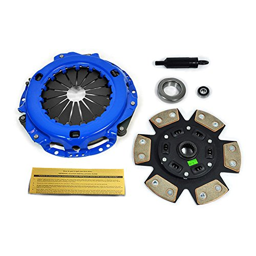 EFT STAGE 3 CERAMIC 6-PUCK CLUTCH KIT 1986-1988 TOYOTA SUPRA 3.0L 7MGE - 6 Puck Clutch Kit