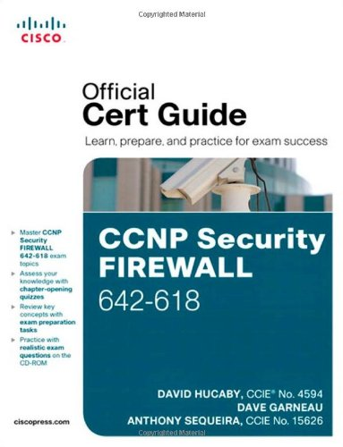 [PDF] CCNP Security FIREWALL 642-618 Official Cert Guide Free Download | Publisher : Cisco Press | Category : Computers & Internet | ISBN 10 : 1587142716 | ISBN 13 : 9781587142710