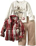 Little Rebels Little Boys' 3 Piece Mountain Club Pant Set