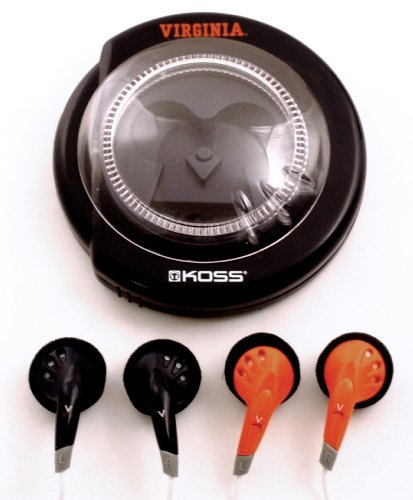 NCAA Virginia Cavaliers SportBuds Headphones ()