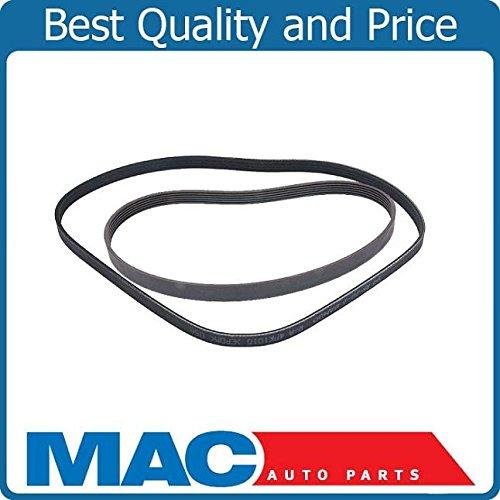 Honda Power Civic Steering (Mac Auto Parts 38218 Serpentine Fan Belt Alternator AC Power Steering Belts Kit Honda Civic 1.7)
