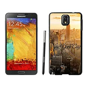 Armor Protective Case for Galaxy Note 3 Case,Samsung Galaxy Note 3 Protective S View Coer Protective Case New York City Samsung Galaxy Note 3 Case Black Cover 1