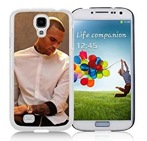 Customized chris brown x White Samsung Galaxy S4 I9500 Protective Phone Case