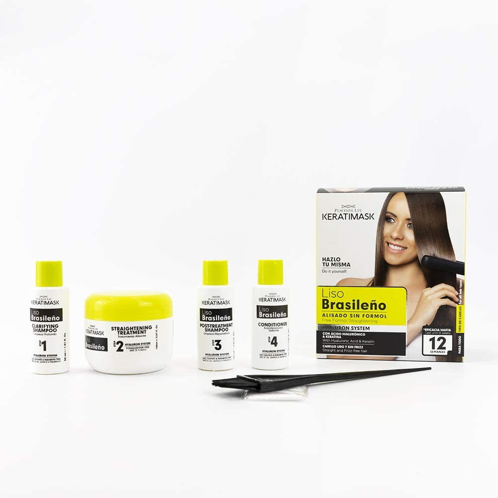 Be Natural - Kit Alisado Brasileño Keratimask - resultado ...