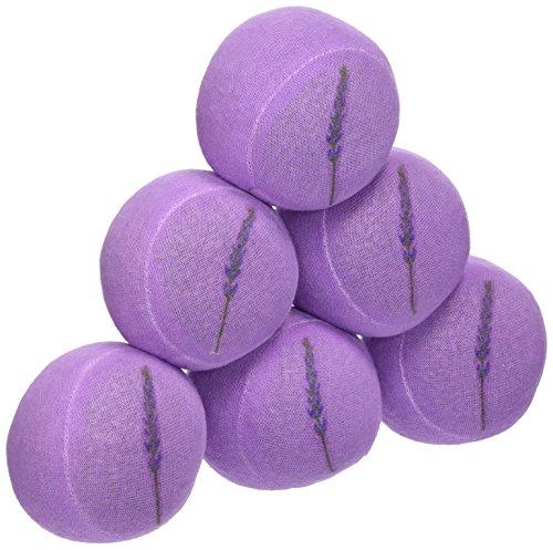 Lavender Luvies Lavender Stress Balls, Lavender Sprig - 6 Pack