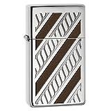 Zippo Lighter Silver (Edelstahloptik) motivo Corda