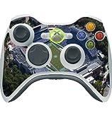 Carolina Tar Heels Xbox 360 Wireless Controller Vinyl Decal Sticker Skin by Compass Litho