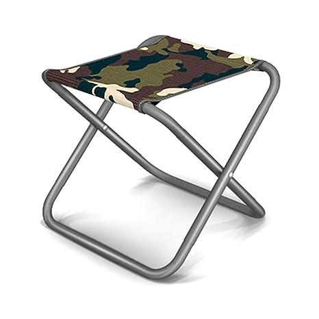 Superb Amazon Com Yangman Portable Folding Stool Metal Mini Machost Co Dining Chair Design Ideas Machostcouk