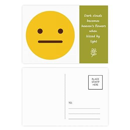 DIYthinker Sin habla amarillo OnlineChat.Thanks Emoji Poesía ...